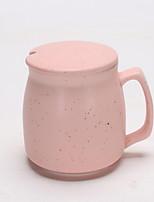 Minimalismo Artigos para Bebida, 400 ml Simples padrão geométrico presente namorada Cerâmica Café Leite Copos