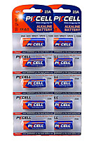 Pkcell 12V Alkaline Batteries 23A 12V 10 Packs 5PC/Card