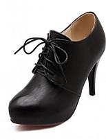 Mariage Bureau & Travail Habillé Décontracté Soirée & Evénement-Noir Beige Orange-Talon Aiguille-Confort Nouveauté-Chaussures à Talons-