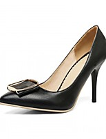 Women's Heels Spring Summer Fall Winter Comfort Novelty Patent Leather Leatherette Wedding Office & & Evening  Casual