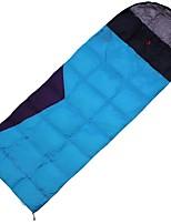Sleeping Bag Rectangular Bag Single -20 -10 0 Duck Down80 Camping OutdoorMoistureproof/Moisture Permeability Waterproof Breathability