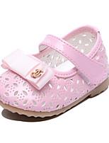 Розовый-Дети-Для прогулок Повседневный-Полиуретан-На плоской подошве-Обувь для малышей-На плокой подошве