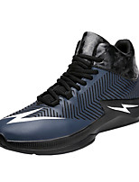 Men's  Spring Summer Fall Winter Comfort Fabric Outdoor Athletic Flat Heel Lace-up  Basketball Shoes