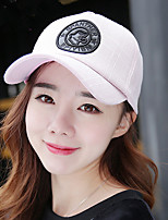 Women's Baseball Cap Casual Outdoor lattice Five-pointed Star Hat Sunscreen Letter