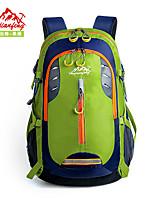 35L L sac à dos Camping & Randonnée Extérieur Bande réfléchissante Multifonctionnel Vert Rouge Noir Bleu Orange huwaijianfeng