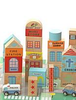 Обучающая игрушка Игрушки Для получения подарка Конструкторы Оригинальные и забавные игрушки Дерево 2-4 года Радужный Игрушки