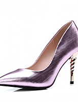 Women's Heels Spring Fall Comfort Leatherette Office & Career Party & Evening Dress Stiletto Heel