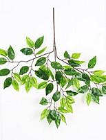 1 ענף פלסטיק צמחים פרחים לשולחן פרחים מלאכותיים 47*47