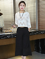 Sign new spring and summer wild fashion style two-piece suit to send Necklace