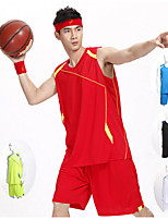 Men's Soccer Clothing Sets/Suits Comfortable Spring Summer Fall/Autumn Winter Patchwork PolyesterLeisure Sports Basketball