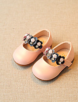 Baby Flats Spring Fall First Walkers Leatherette Outdoor Casual Low Heel Magic Tape Gold Pink Walking