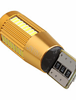 ziqiao 1 шт автомобиль авто светодиодных T10 194 W5W CANbus 38 СМДА 4010 привел лампочку ошибки не привела парковки противотуманных фар