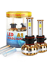 2017 New 9006 60W 6400LM LED Headlight Kit COB chip 6000K 8000K Bulbs lamps Light Pair