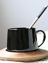 Минимализм Стаканы, 340 ml Boyfriend Подарок Подруга Gift Керамика Телесный Молоко Кофейные чашки