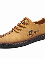 Oxfords Spring Summer Fall Winter Comfort Nappa Leather Outdoor Office & Career Party & Evening Casual Black Brown