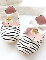 Белый Розовый-Дети-Для прогулок Повседневный-Лакированная кожа-На плоской подошве-Удобная обувь-На плокой подошве