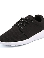 Men's Athletic Shoes Spring Summer Fall Light Soles Canvas Outdoor Athletic Walking Black