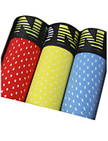 3Pcs/Lot Men's Fashion Sexy Boxers Underwear Cotton Soft Panties
