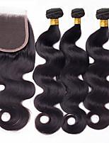 One Pack Solution Перуанские волосы Естественные кудри 12 месяцев 4 предмета волосы ткет