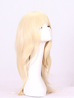 Fashion Blonde Straight Wigs Synthetic Wig For Black Women