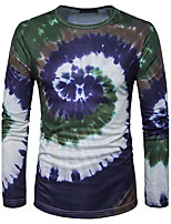 10 Colors High Quality Men's Casual/Daily Simple Hoodie Print Round Neck Micro-elastic Cotton Long Sleeve Spring Fall Hot Sale
