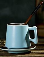 Минимализм Стаканы, 350 ml Boyfriend Подарок Подруга Gift Керамика Телесный Кофейные чашки