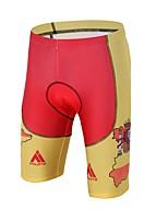 Cuissard Rembourré de Cyclisme Unisexe Compression La peau 3 densités Diminue Irritation Vélo Shorts Rembourrés Spandex LYCRA®