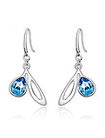 Drop Earrings Crystal Crystal Fashion Drop Dark Blue Jewelry Daily Casual 1 pair