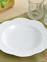 1 Pcs Ceramic Dinner Plate Dinnerware Fish Plate