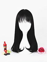 New Fashion 45cm Short Black Girls Synthetic 18inch Anime Lolita Wig CS-292A