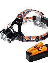 U'King® ZQ-X821D-US CREE XM-L T6/2*R5 Headlamp 5000LM LED 4 Mode for Camping Hiking Bike Outdoor Green light