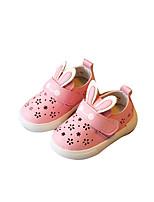Белый Розовый-Дети-Для прогулок Повседневный-Дерматин-На плоской подошве-Удобная обувь-На плокой подошве