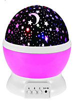 Starry Night Light Colorful LED Star Sky Projection Bedroom LampRotatable LED Night Light Intelligent Projection Lamp 2 Color Mode Great Gift