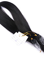 Best 10A Micro Loop Ring Links Virgin Human Hair Silky Straight Extensions 1g/Strand Brazilian Human Hair 14 Inch-28Inch
