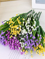 1 Branch Plastic Others Tabletop Flower Artificial Flowers Simulation of Chive Flowers