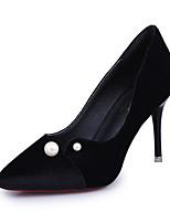 Extérieure-Noir Vert-Talon Aiguille-Confort-Chaussures à Talons-Polyuréthane