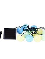 12 Balls of Solar Energy Colorful Ball Strings