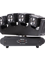 U'King® Four Head Beam 80W RGBW 4 IN 1 LED Moving Head Light 13/25CHs for Stage Dj Disco Light 1pcs