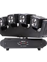 u'king® четыре головы луча 80w RGBW 4 в 1 СИД Moving головной свет 13 / 25chs для этапа диско DJ света 1шт