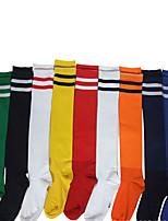 Sport Socks / Athletic Socks Women's Men's Spring Summer Fall/Autumn Winter Protective PolyesterYellow White Red Black Blue Light Blue
