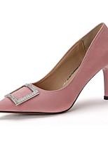 Damen-High Heels-Büro Kleid Party & Festivität-Vlies-Stöckelabsatz-Club-Schuhe Komfort-