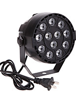 U'King® 15W 12LEDs RGBW DMX 512 Sound Activated Master-Slave 8 Channel Stage Light for Disco Party Club KTV Wedding 1pcs