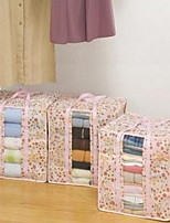 3 Pcs  Storage Boxes Storage Bags Non-woven withFeature is Travel  For Underwear Shopping