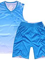 Herrn Fußball Kleidungs-Sets/Anzüge Atmungsaktiv Komfortabel Frühling Sommer Herbst Winter Neuartige PolyesterFreizeit Sport Basketball