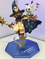 Figuras de Ação Anime Inspirado por Monstro Digital / Digimons Fantasias PVC 14 CM modelo Brinquedos Boneca de Brinquedo