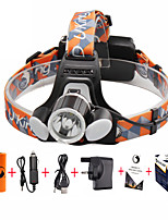 UKing ZQ-X851#-UK CREE XML T6 /2*LED Headlamp 4 Mode 6000ML Lumens for Camping/Hiking/Caving Everyday Use Cycling