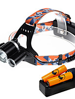U'King ZQ-X819D-EU CREE XM-L T6/2*R5 Headlamp 5000LM LED 4 Mode for Camping Hiking Bike Outdoor UV light