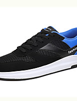 Sneakers Summer Fall Ankle Strap Tulle Outdoor Casual Lace-up Black/Blue Black/Red Black and White