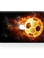For MacBook Air 11 13/Pro13 15/Pro with Retina13 15/MacBook12 The Burning Of Football Decorative Skin Sticker