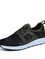 Running Sneakers Yeeze Shoes Men's Shoes Tulle Outdoor / Athletic / Casual Fashion Sneakers Outdoor Black/Green